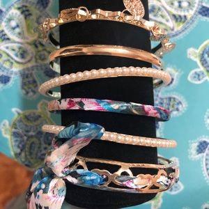 Acordian bracelets set if 6